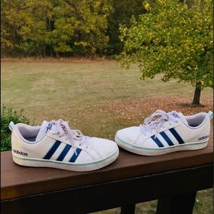 Adidas Neo Vs Pace Shoes 3 Stripes Blue 8